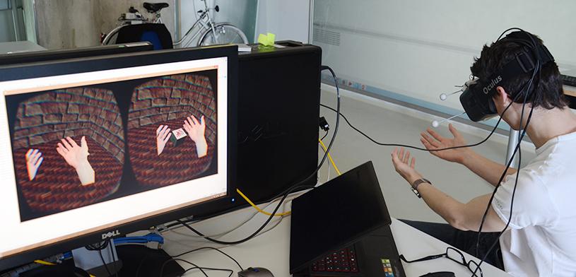 Augmented Virtuality Projekt an der THI