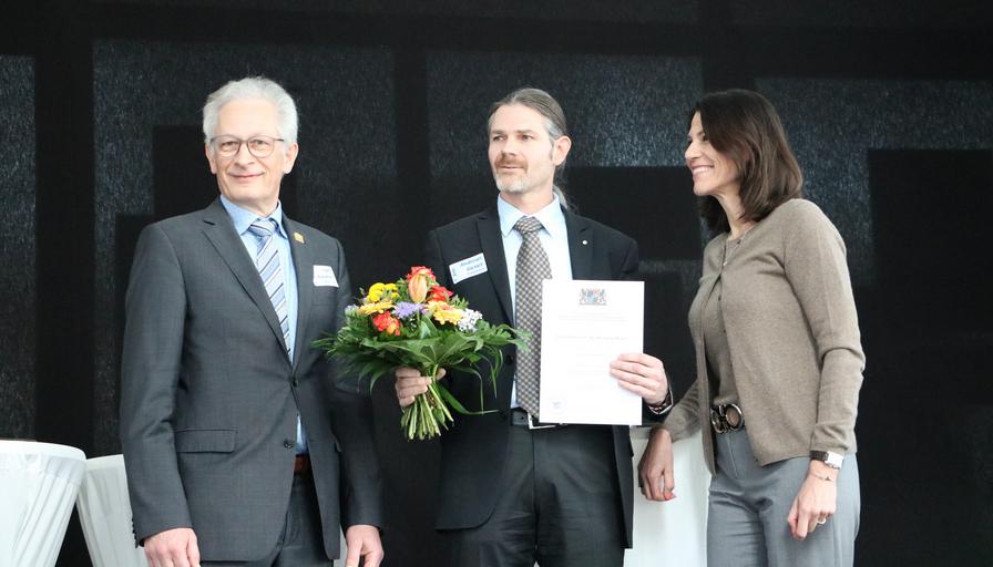 """""""Preis der Lehre"""" für Prof. Dr. Andreas Riener"""